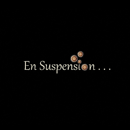 En suspension